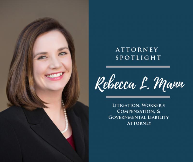 Attorney Spotlight: Rebecca L. Mann