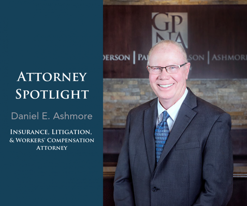 Attorney Spotlight: Daniel E. Ashmore