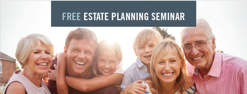 Free Estate Planning Seminar September 12th