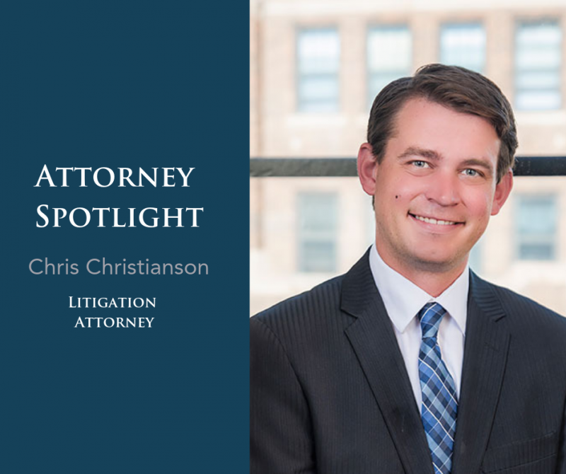 Attorney Spotlight: Chris Christianson